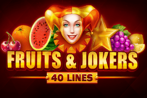 Fruits&Jokers: 40 lines автомат